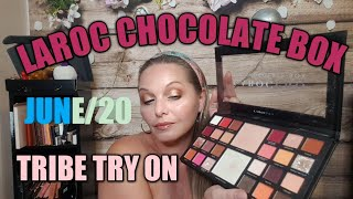 #tribebeautybox 🇨🇦TRIBE BEAUTY BOX ( JUNE)  TRY ON