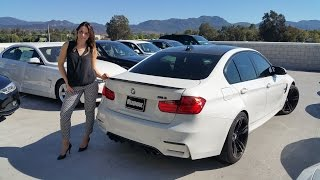 BMW M3 with M Accessories / Exhaust Sound / Quick BMW Review