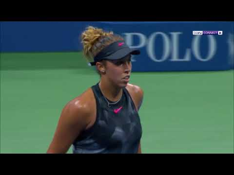 Elina Svitolina Vs  Madison Keys US Open 2017 Highlights