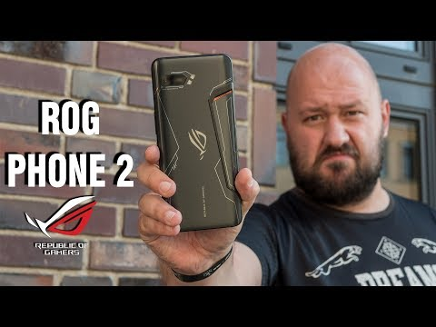 Самый мощный смартфон - ASUS Rog Phone 2: мобильный гейминг жив! Главные фишки Rog Phone 2