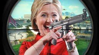 Hillary Clinton 1v1 Trolls a FaZe Member (BO2 1v1 Trolling)