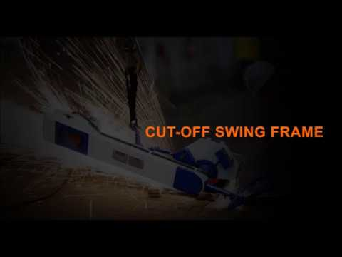 Swing Frame Cut Off  Machine for foundry | Foundry Grinder | Rebel