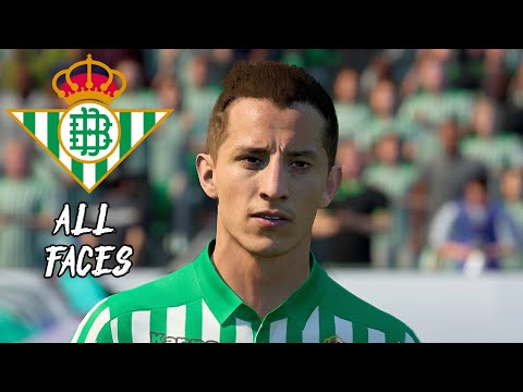 FIFA 20 REAL BETIS ALL PLAYER FACES UPDATE.