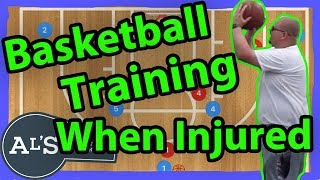 Basketball Training With A Knee Injury