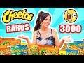 PROBANDO LOS CHEETOS MAS RAROS DEL MUNDO! 10 Sabores 3000 Cheetos! TASTING SandraCiresArt