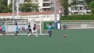 華仁九龍vs香港國際 2015 3 31 d1學界足球丙組 精華