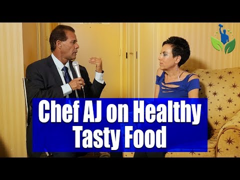 Chef AJ Teaches Us That Healthy Food Taste's Good!