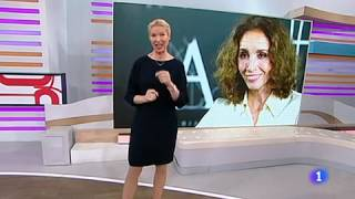 Ana Belén en Corazón TVE con Anne Igartiburu