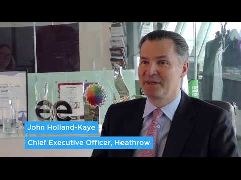 Career tips from the top, with John Holland-Kaye CEO, Heathrow