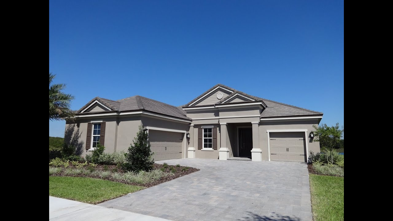 new lakefront home in winter garden overlook at hamlin by taylor