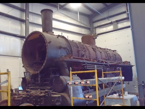 Strasburg Railroad Shop Tour: Status On Canadian National 7312, RGS 20 And More!