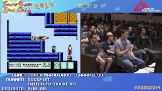 Summer Games Done Quick 2014 - Part 143 - Super Mario Bros. 3