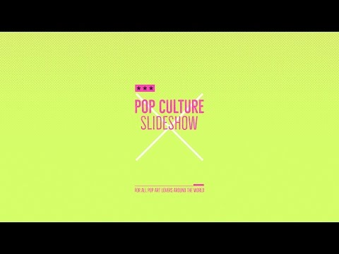 After Effects Template - Pop Culture Slideshow
