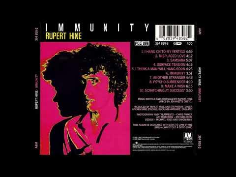 RUPERT HINE / immunity / 1981 / FULL ALBUM /