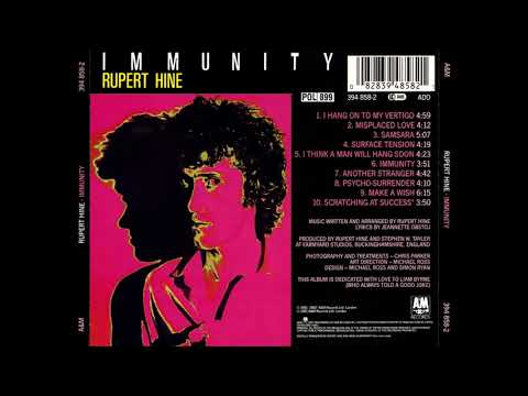 RUPERT HINE  immunity  1981  FULL ALBUM