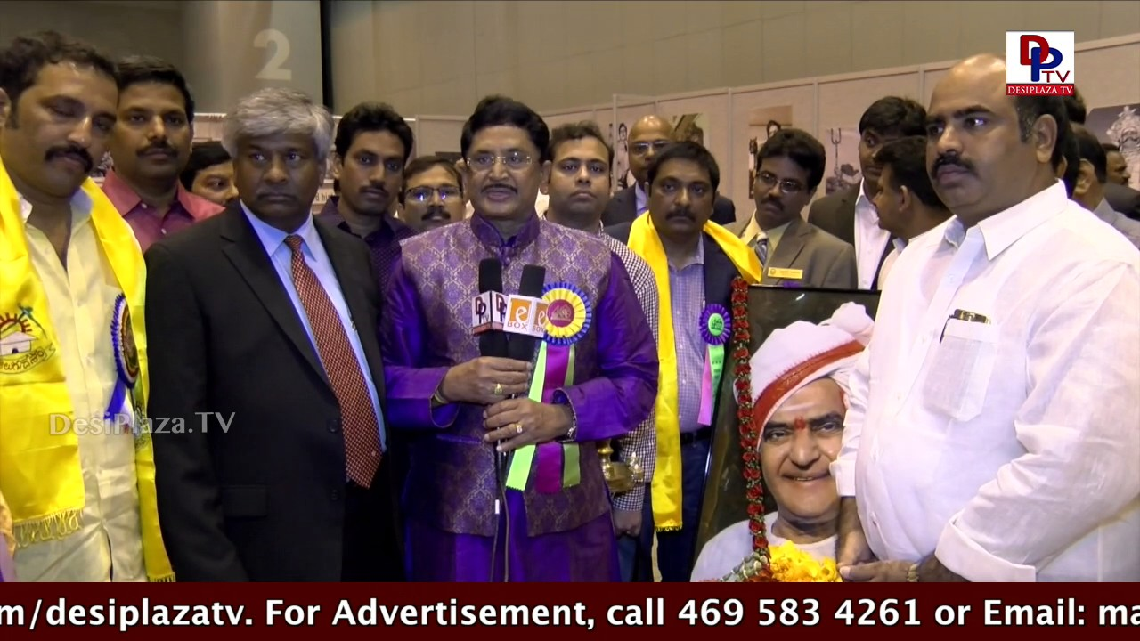 Media Byte with actor / politician Murali Mohan at  TANA Conference - 2017 - St Louis