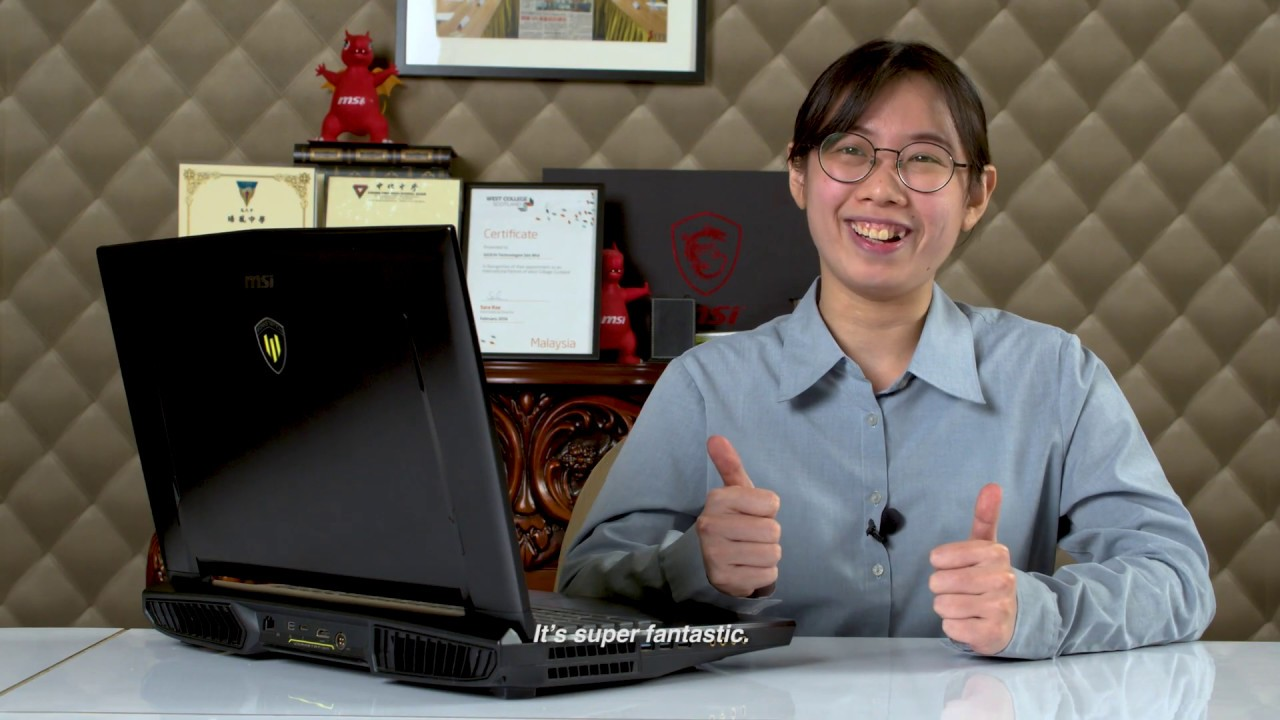 Giochitech上課指定高端電腦msi workstation