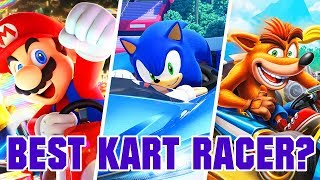 Which Is The Best Kart Racing Game?