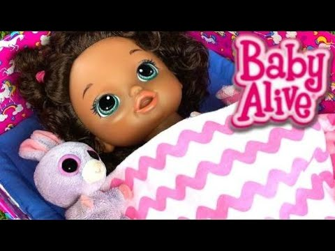How to Make a Baby Alive Doll Bed