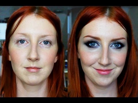 Wearable Smokey Eye Makeup Tutorial For Hooded Eyes - YouTube