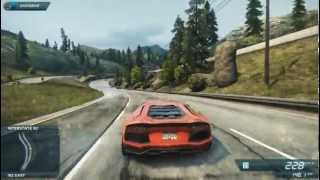 N.F.S Most Wanted 2 2012  Lamborghini Aventador with options file 100% save for free download