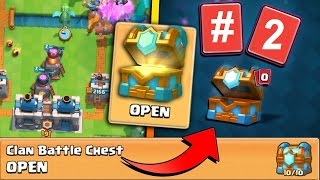 Clash Royale - 2nd Clan Battle Chest opening