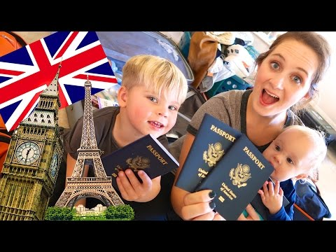 HUGE EUROPEAN FAMILY VACATION!