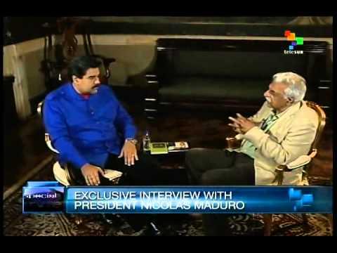 Tariq Ali interviews President Nicolas Maduro