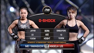 Angela Lee vs. Mei Yamaguchi: FULL MATCH (ONE Championship)