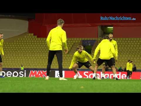 Das Abschlusstraining des BVB im Stade Louis II