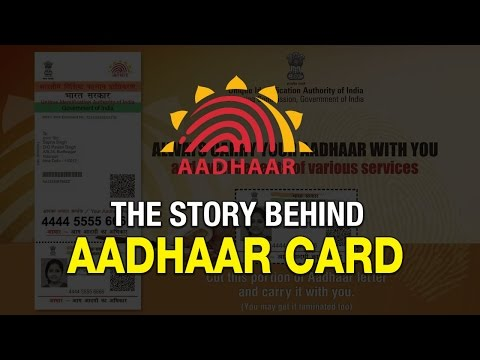 The story behind Aadhaar card | The World's largest national ID project