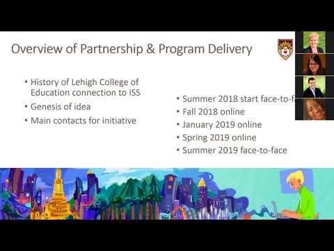 Webinar on ISS-Lehigh Graduate Programs