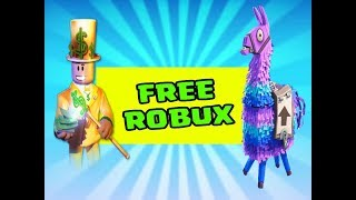 Finding Free Robux In a Loot Llama (Fortnite Battle Royale)