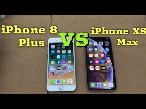 buy popular d5fe0 4999d Speed & Size Comparison Between iPhone XS Max & iPhone 8 Plus