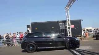supercharged honda civic type r ep3 vs astra vxr at crail