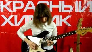 """Анастасия Рыжкова - """"Stairway To Heaven"""" - Школа рок-музыки """"Красный Химик"""""""