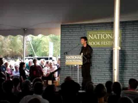 Neil Gaiman at National Book Festival