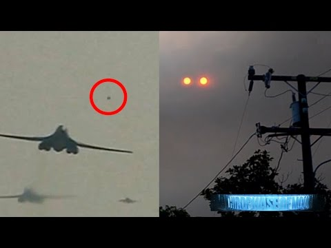 Breaking News! UFO ZOOMS Supersonic Bomber! Mega Structure Found On Mars! And Much More 9/14/2016
