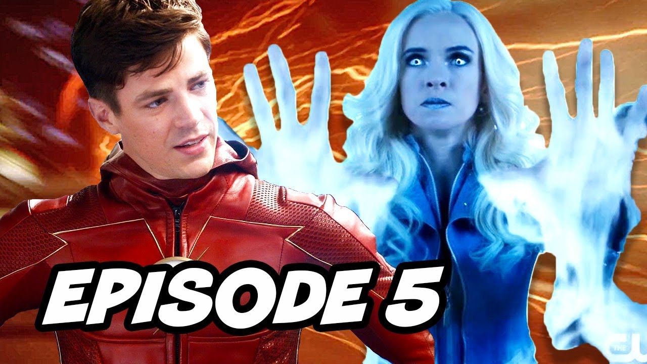 The Flash Season 4 Episode 5 - Arrow Crossover TOP 10 WTF and Easter Eggs