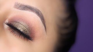 green taupe look feat morphe 35f