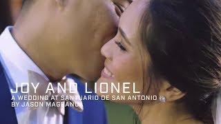 Joy and Lionel: A Wedding at Santuario de San Antonio