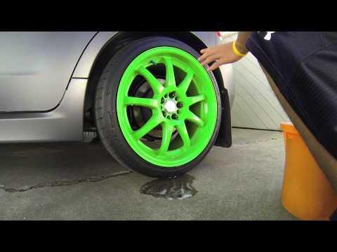 Cleaning Powerdercoated Work Emotion XD9's | Subaru WRX Hatchback |