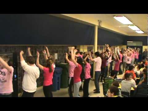 Flash Mob (Anti Bullying Promotion) @ Chatham Kent Secondary School