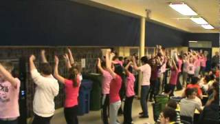 Flash Mob (Anti Bullying Promotion) @ Chatham Kent Secondary School