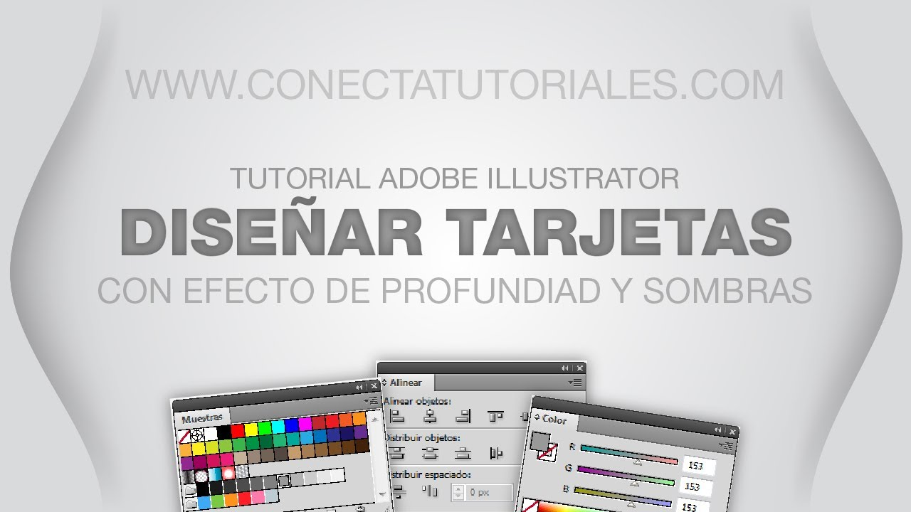 Tutorial Illustrator// Diseña tus tarjetas de visita - YouTube