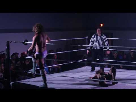 Bucky McGraw vs Michael Allen Richard Clark - Hair vs Beard Match - High Impact Wrestling, 10-22-16