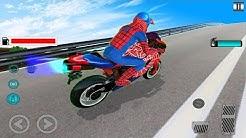 Jogo de Motos para Crianças - Homem Aranha - Vídeo para Criançinha