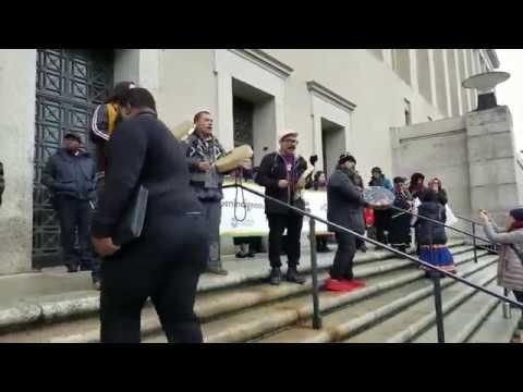 Indigenous Women's March Rally Washington DC 2019
