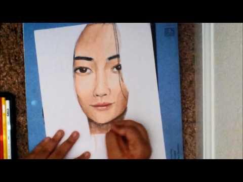 Linh Cinder (The Lunar Chronicles) | Realistic Portrait Fanart Timelapse | Appy