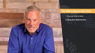 5 Ways to Improve Your Credit